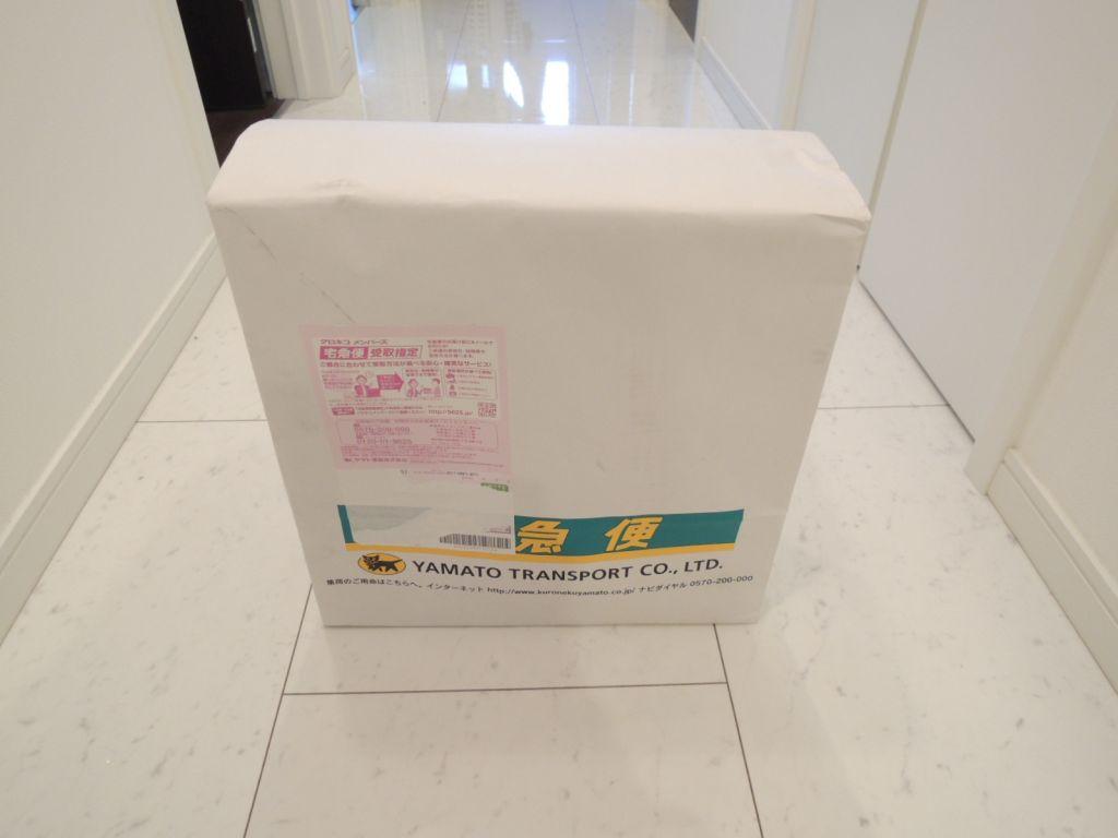 商品到着時の梱包サイズ