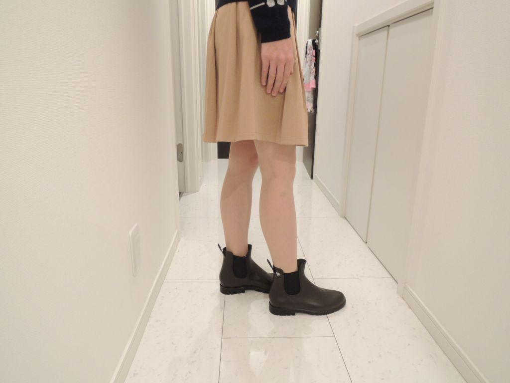 スカートで履いた時の様子2