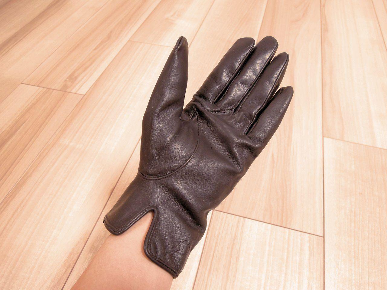 手袋つけた写真2