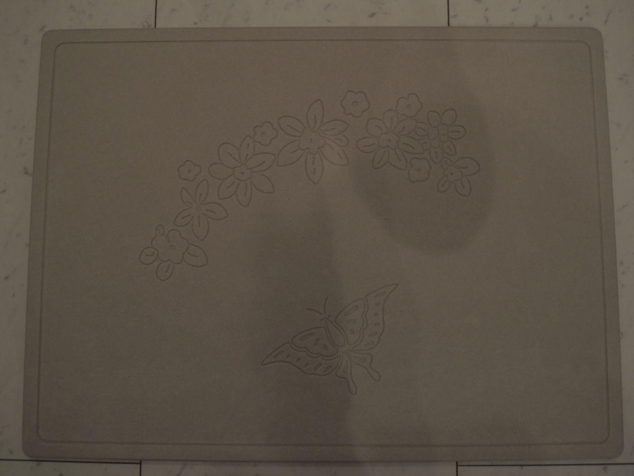 珪藻土バスマットのデザイン2