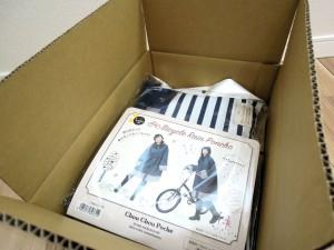 箱の中の写真