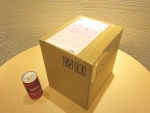 箱開封前の写真