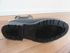 レインブーツ靴底写真