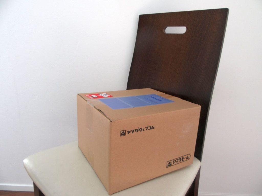 商品の箱の写真
